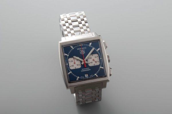 Lot#345 Tag Heuer Monaco Chronograph