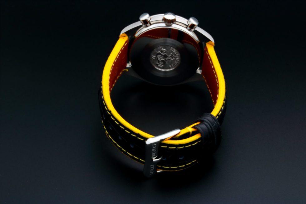 Lot #5615 – Omega Speedmaster Racing Schumacher Watch Yellow 3510.12.00 Omega Omega 3510.12