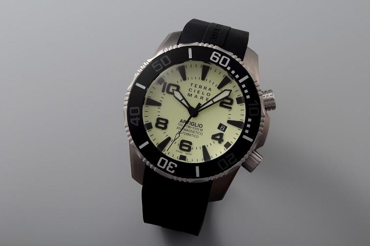 Lot#PS3028 Terra Cielo Mare Artiglio // Lume Dial // TC7003 Watches [tag]