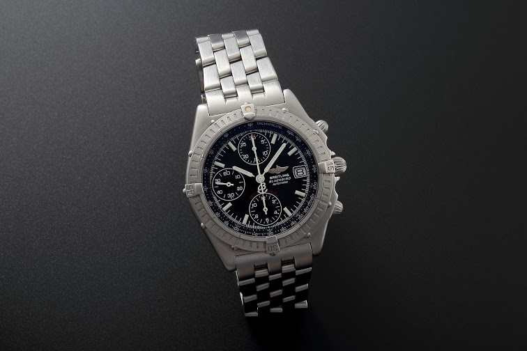 Lot#225Breitling Automatic Chronograph Watches [tag]