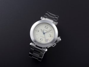 Lot #7746 Cartier Pasha Date Watch W31015M7 Cartier Cartier Pasha