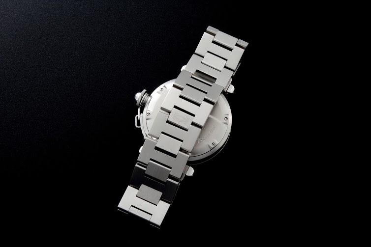 Lot #7739 Cartier Pasha GMT Big Date Watch W31049M7 Cartier Cartier Big Date
