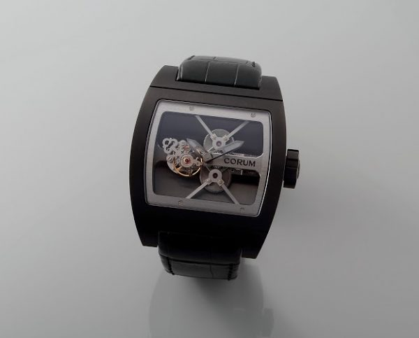 Lot#2197 Corum TI-Bridge Tourbillon