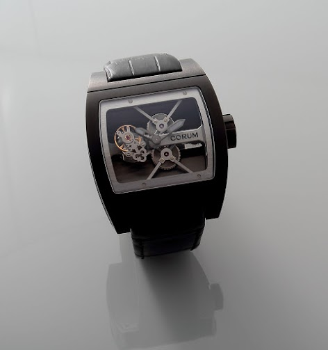 Lot#2197 Corum TI-Bridge Tourbillon Watches [tag]