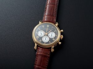 Lot#215: Franck Muller Chronograph Double Dial