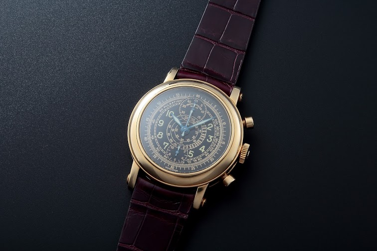 Lot#239	18k Yellow Gold Franck Muller 2 Register Chronograph Chronograph Franck Muller