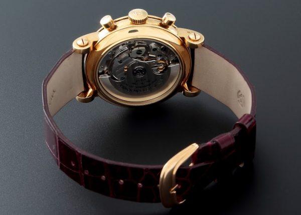 Lot#23918k Yellow Gold Franck Muller 2 Register Chronograph