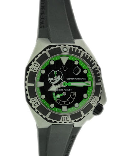 Lot#2213 Special Edition Girard Perregaux Sea Hawk