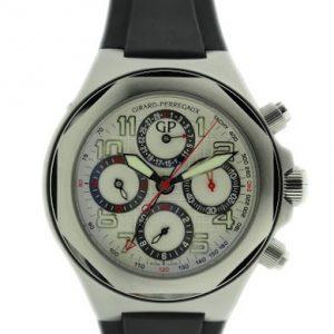 Lot#2210 Girard Perregaux Laureato Chronograph