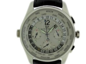 Lot#2208 Girard Perregaux World Time Chronograph