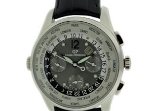 Lot#2207 Girard Perregaux World Time Chronograph