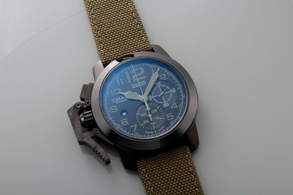 Lot#PS3003 Graham Oversize Chronofighter // 2CCAU.G01A