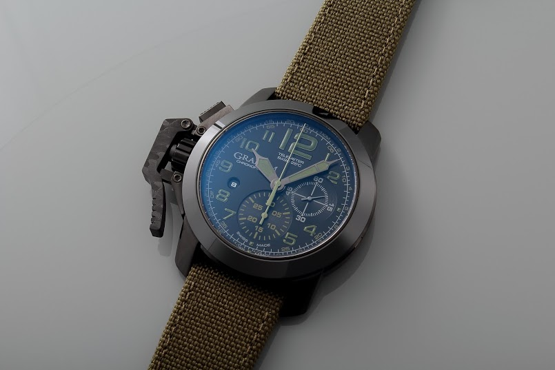 Graham Chronofighter Amazonia Green Front1
