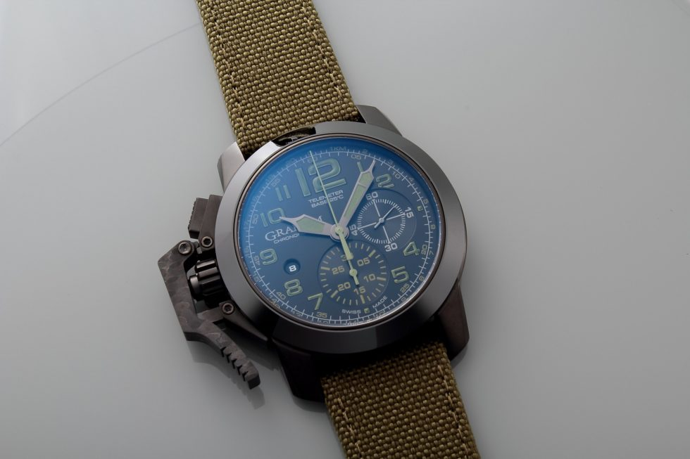 Graham Chronofighter Amazonia Green Front