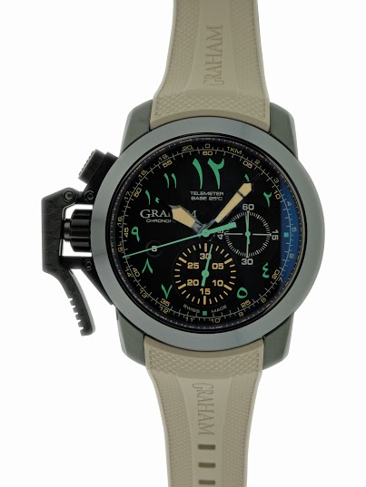 Lot#PS3007 Graham Chronofighter Chronograph // 2CCAU.B12A.K93N  Watches [tag]