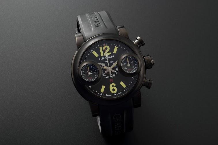 Lot#220Graham Swordfish Chronograph Watches [tag]
