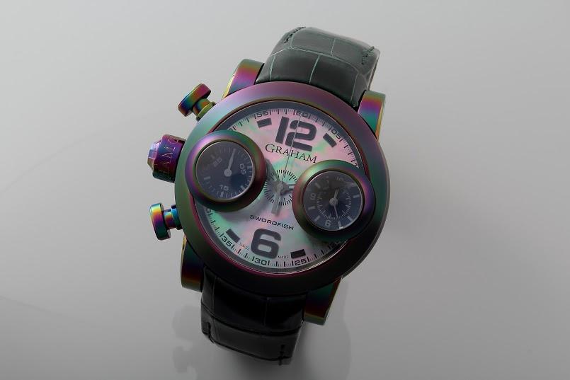 Lot#PS3002 Graham Swordfish Iris // 2SWBB.B39L Watches [tag]