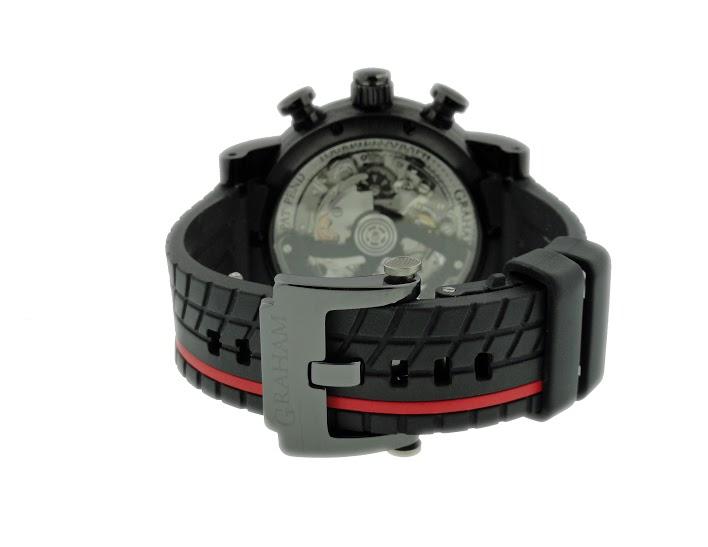 Lot#2148 Graham Tourbillon Chronograph Watches [tag]