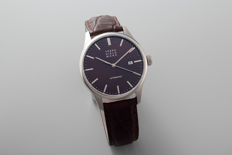 Lot#PS3032 Terra Cielo Mare Milano 40 Marrone  // TC7015 Watches [tag]