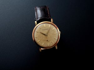 Lot#2198:  Yellow Gold Movado