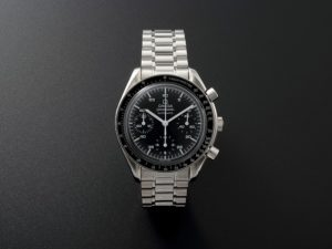 Lot #7771 – Omega #175.0032 Speedmaster Reduced Chronograph Watch 175.0032 Omega 175.0032