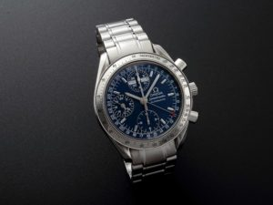 Lot #7744 Omega Speedmaster Sport Day Date Chronograph Automatic Watches [tag]