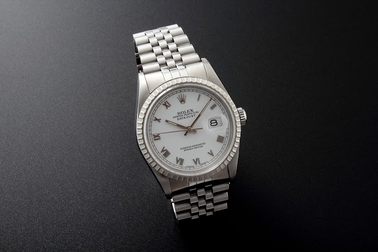 Lot#205 Rolex Oyster Perpetual Datejust Watches [tag]