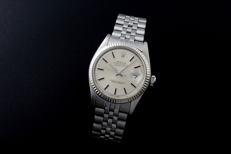 Lot#2175 Rolex Oyster Perpetual Steel Automatic White Gold Bezel Watches [tag]