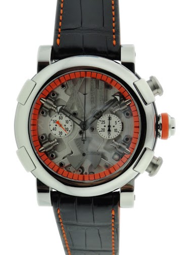Lot#PS3014 Romain Jerome Titanic DNA Chronograph // RJ.T.CH.SP.005.03 Watches [tag]
