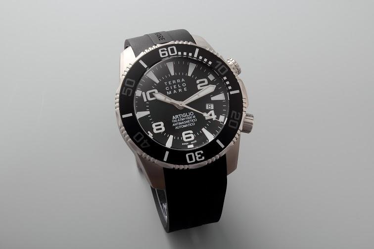 Lot#PS3026 Terra Cielo Mare Artiglio // Black Dial // TC7003 Watches [tag]