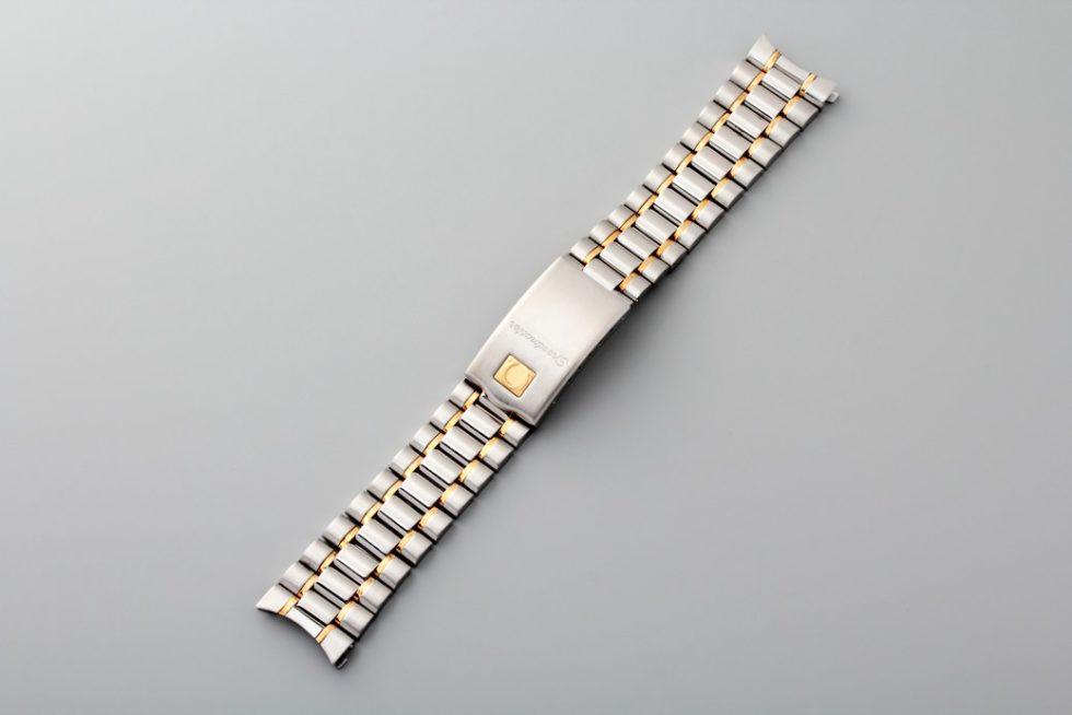 Lot #3338 Omega Speedmaster Tutone Bracelet Omega 18mm bracelet