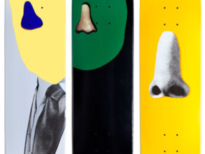 Lot #PS001 John Baldessari Skateboards