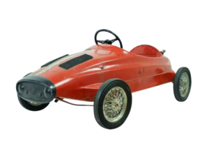 Lot #2978 Vintage Ferrari Child's Toy Pedal Car by Giordani