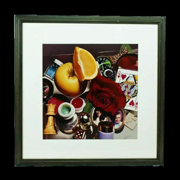 "Lot #2979 Audrey Flack ""Queen"" C-Print Photograph"