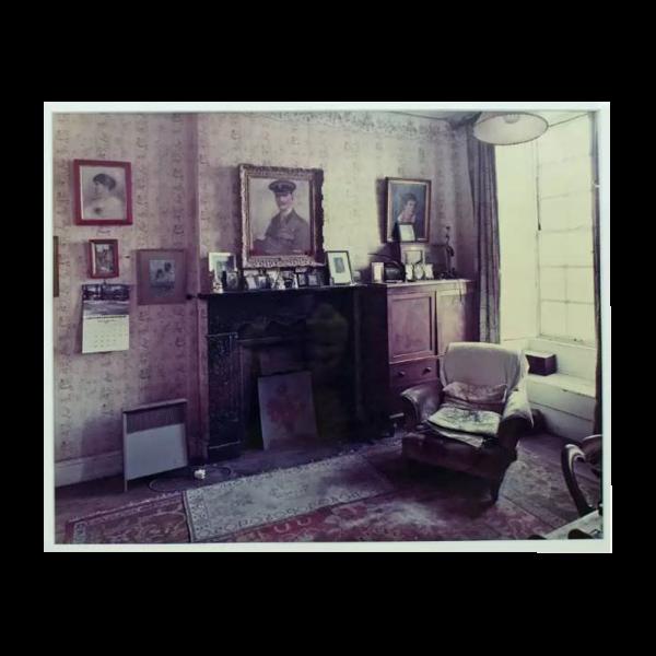 "Lot #2980 Andrew Bush ""Lawrence's Room"" C-Print Photograph"