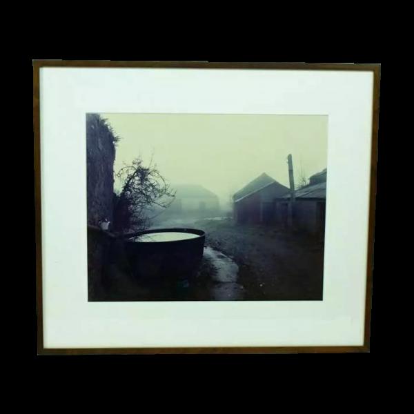 "Lot #2982 Andrew Bush ""Famine Tub"" C-Print Photograph"
