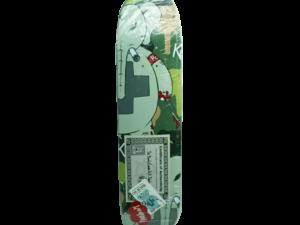Signed Frank Kozik Dr. Bomb Stealth Skateboard