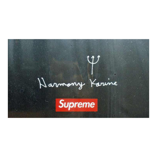 Harmony Korine Skateboard 2 Deck Set for Supreme Ne