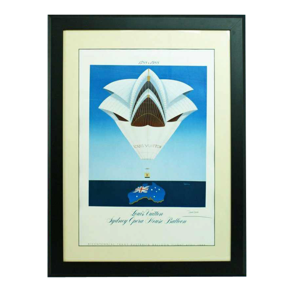 Louis Vuitton Poster 1988 Sydney Opera House Balloo