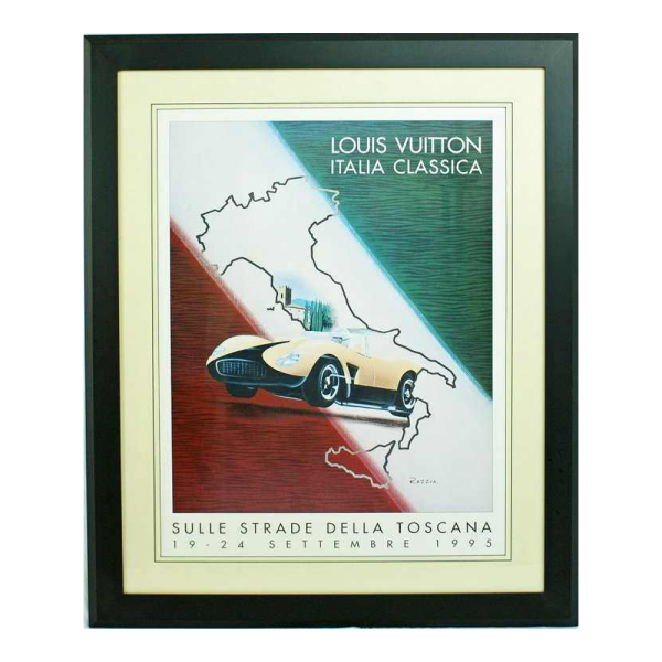 Louis Vuitton Poster 1995 Italia Classic by Razzia