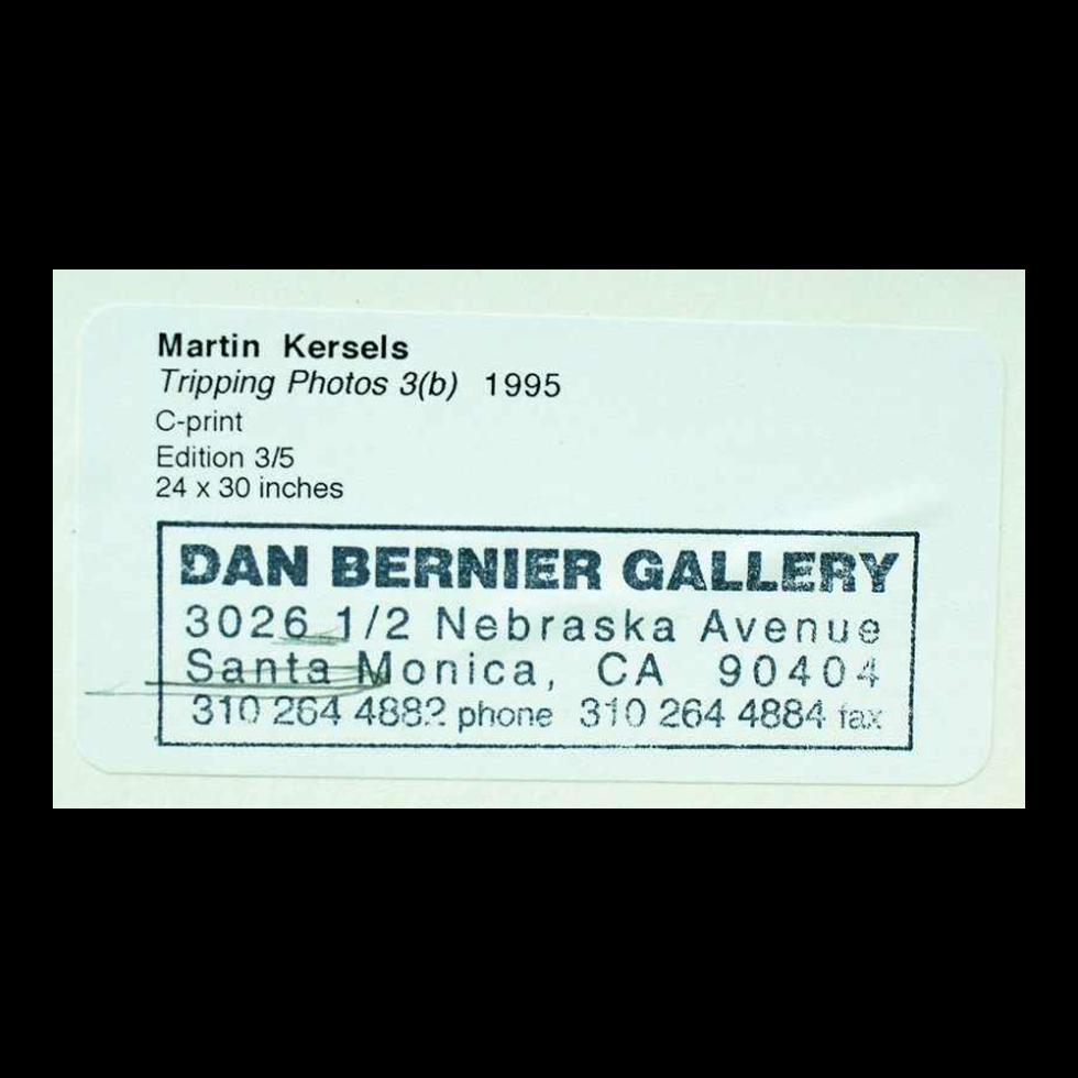 Lot #7588 – Martin Kersels Set of 3 C-Prints Tripping Photos #3 Art Art