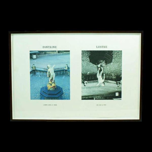 "Jan Vercruysse ""Fontaine Lustre"" Lithograph"