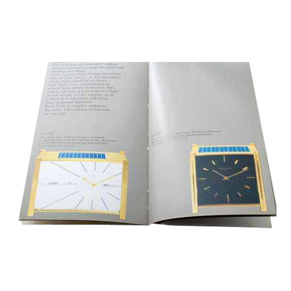 Lot #3313 Patek Philippe Calatrava Ricochet 788/4 Solar Clocks Booklet Ephemera Ephemera