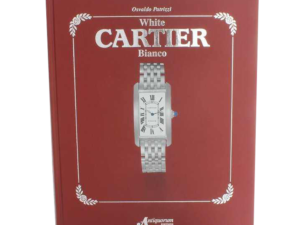 Cartier White Bianco Book by Osvaldo Patrizzi