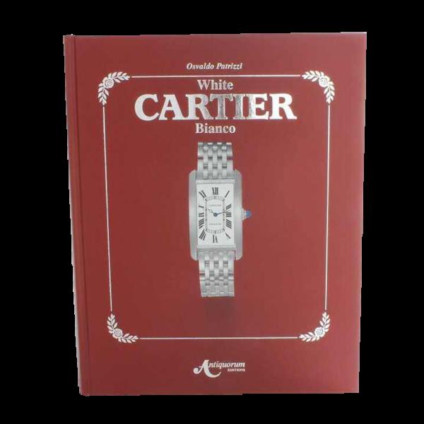 Cartier White Bianco Book by Osvaldo Patrizzi