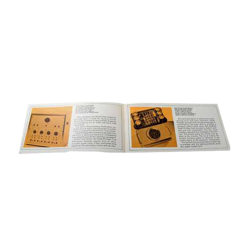Lot #3315 Patek Philippe Electronic Division Time Distributor Brochure Ephemera Ephemera
