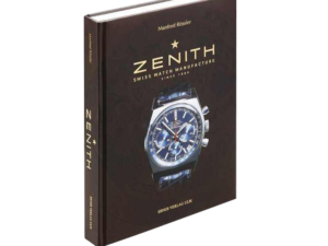 Zenith Watch Book By Manfred Rossler
