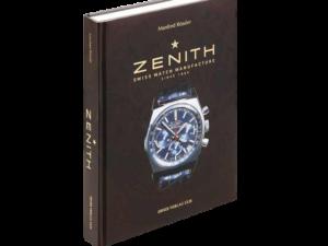 Zenith Watch Book By Manfred Rossler