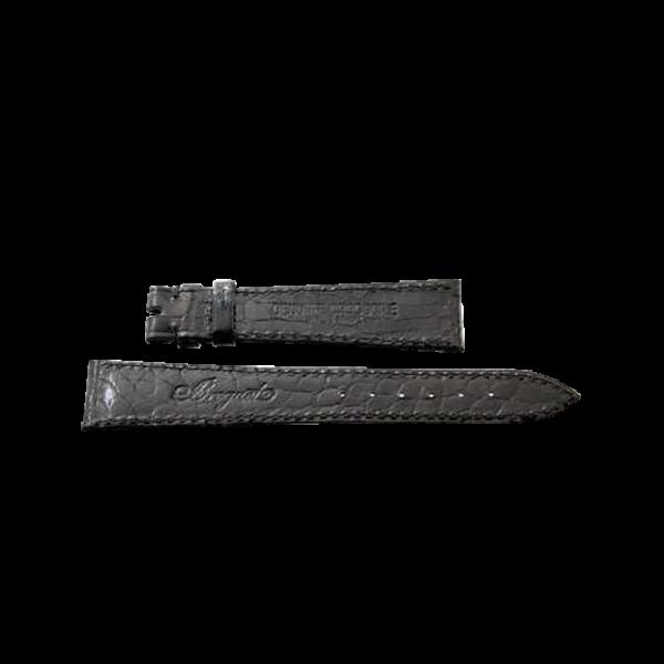 Lot #3049 Black Genuine Crocodile Breguet Strap