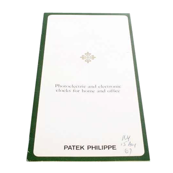 Patek Philippe Photoelectric and Electronic Clocks
